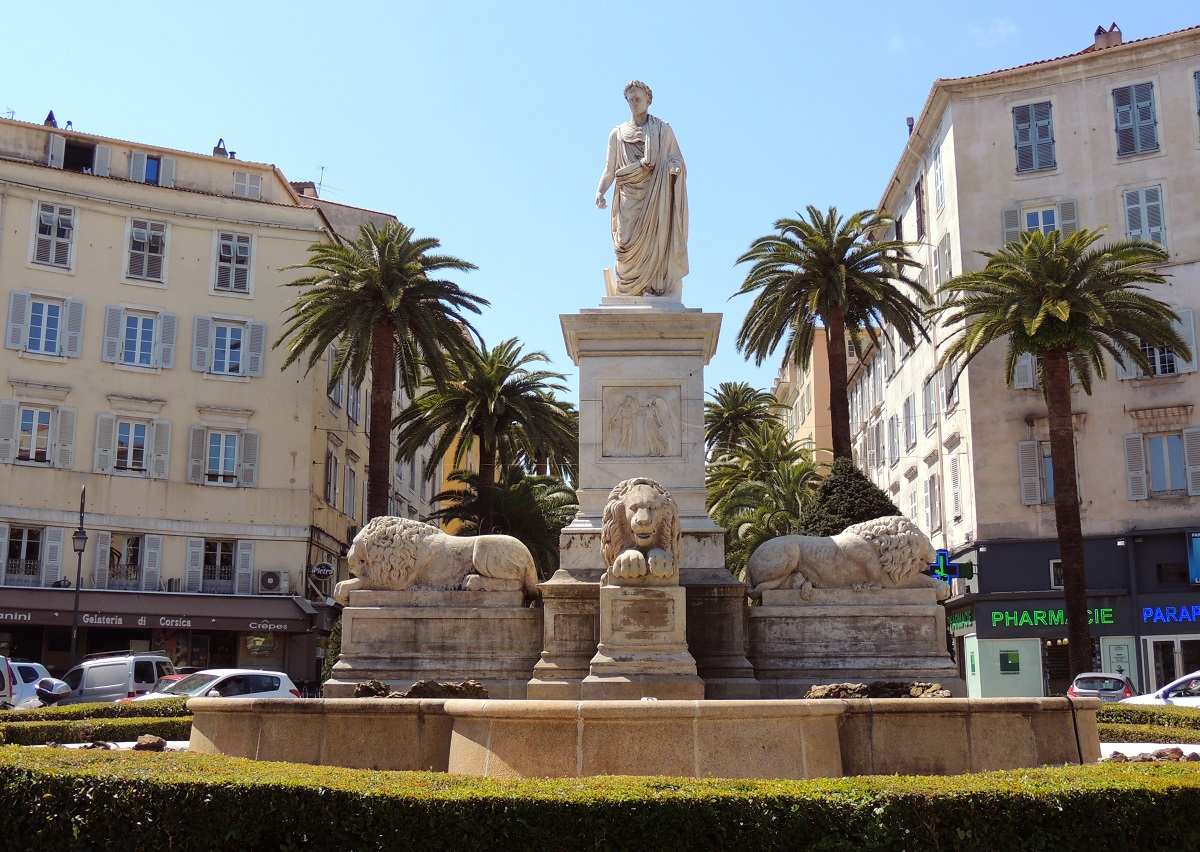 Foch Square, Ajaccio