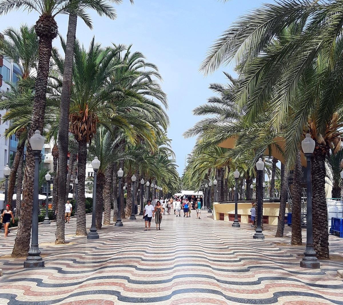Explanada Espana, Alicante