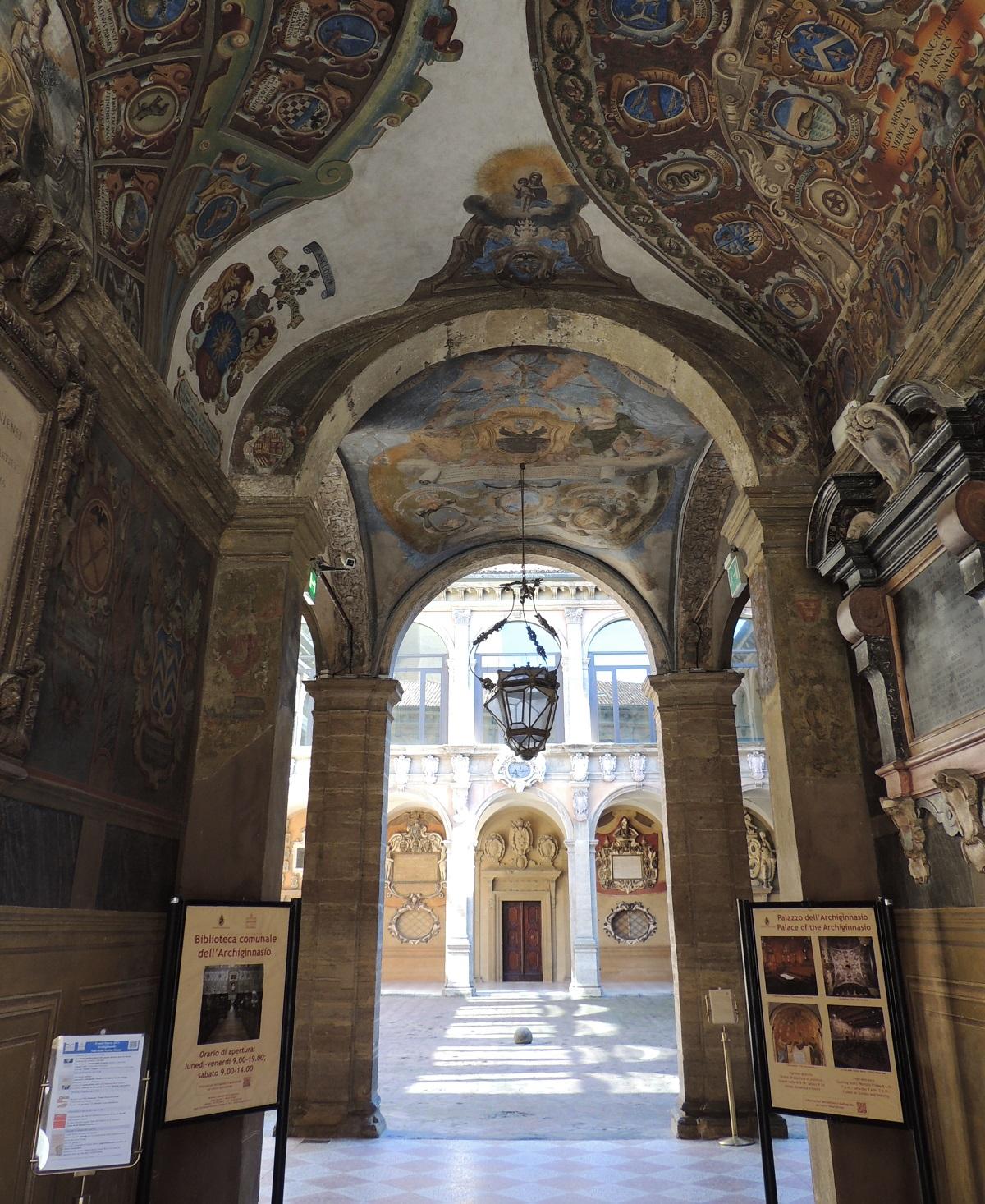 Archiginassio Palace, Bologna
