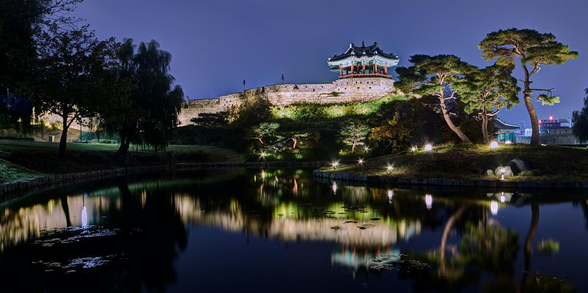 Hwaseong Fortress, South Korea