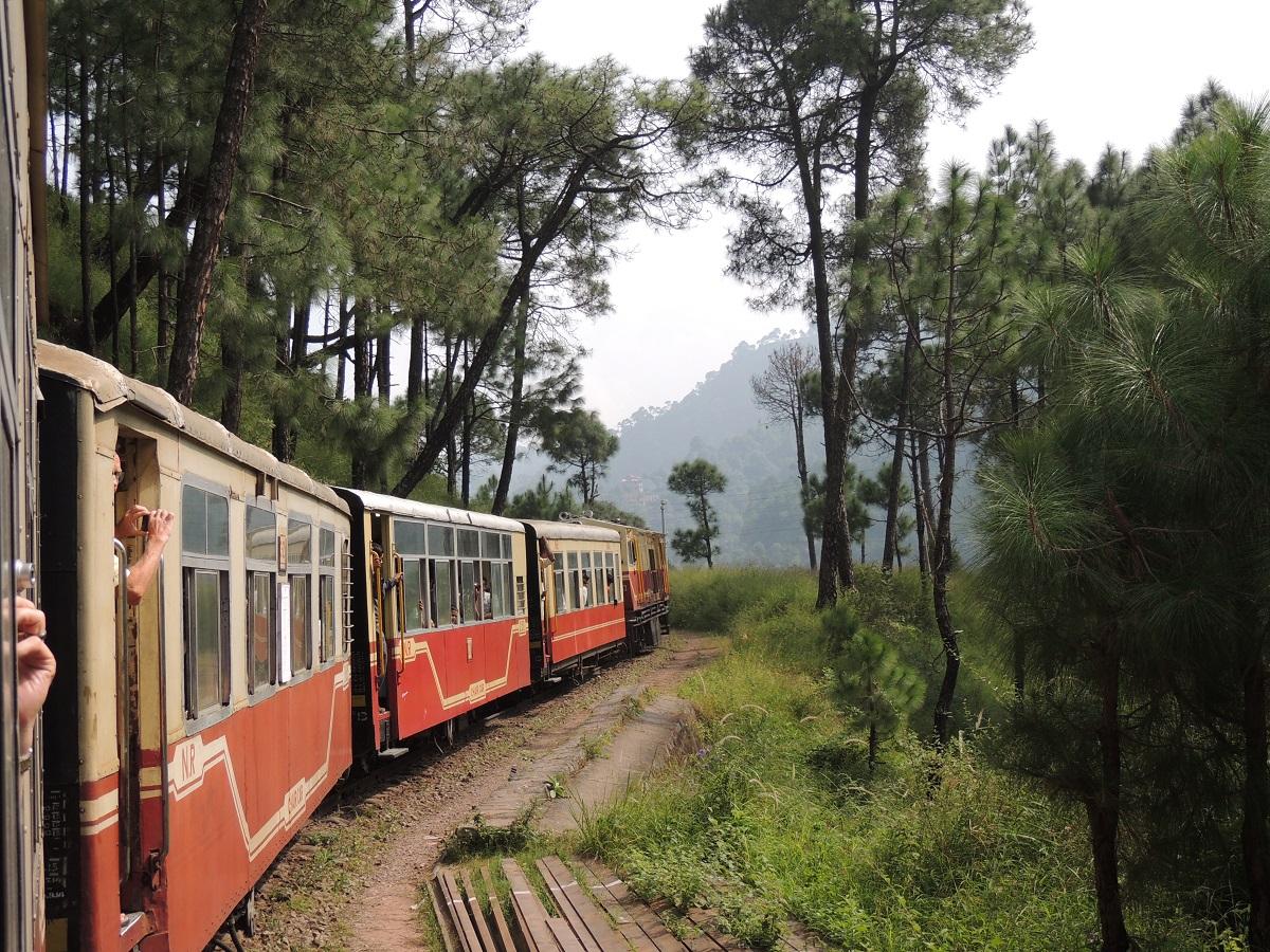 Kalka Shimla Railway, India