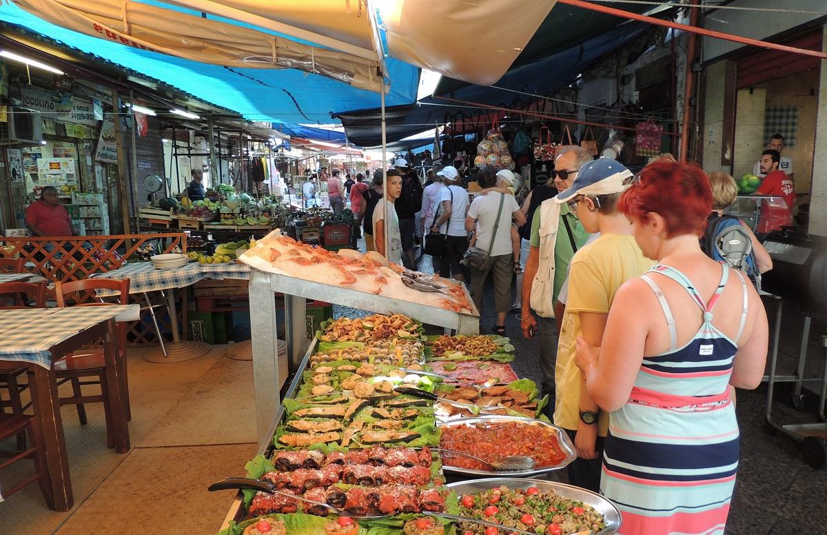 Ballaro Market, Palermo
