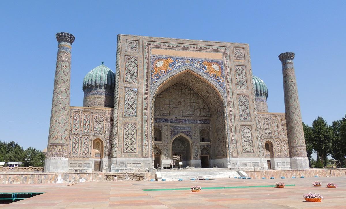 Sherdor Madrasa, Samarkand