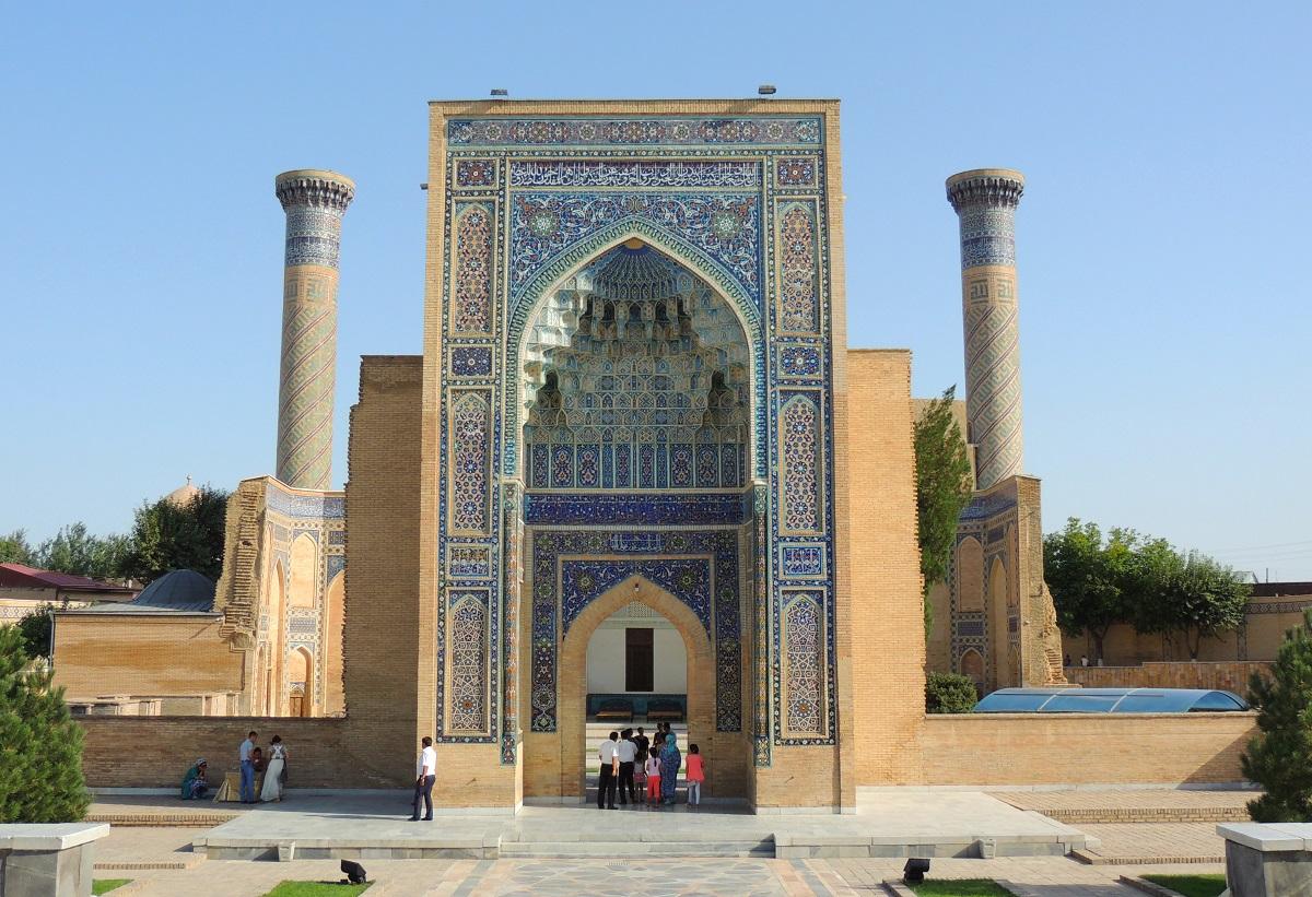 Gur-e Amir Mausoleum, Samarkand